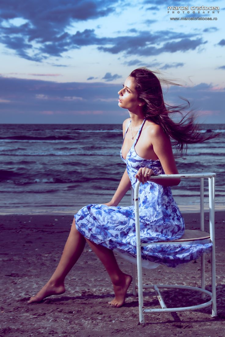 Some pictures I did with Mihaela Niculescu from Max1 Models Agency at Oha beach.