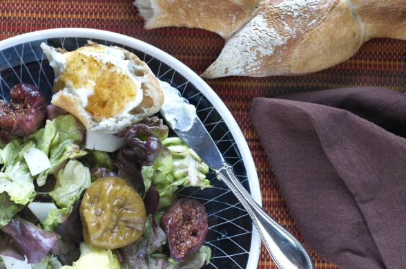 Abundance is the mother of preservation. My friend Amy found herself in possession of a very large quantity of figs, more than any rational human could possibly manage to consume, so I happily took a few flats off her hands. Fig jam, after all, is my absolute favorite. Coincidentally, I'd been harvesting fennel pollen from a thicket up the hill from my home. After a couple weeks drying in the basement, I worked the pollen off the fennel heads.  Abundance. A surfeit of figs and a bowlful of…