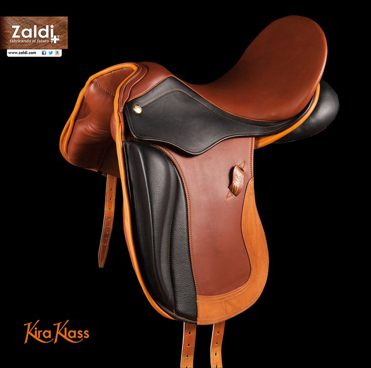 Kira Klass bicolor- Silla Zaldi de montar de doma | Zaldi dressage saddle