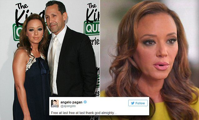 Leah Remini's husband tweets support for wife after Scientology exposé #DailyMail