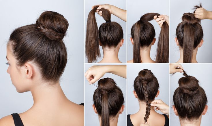 7 Best Ideas Long Hairstyle Tutorial For Bun Bun Hairstyle Ideas Long Tutorial Frisuren Lange Haare Dutt Dutt Frisur Anleitung Dutt Frisuren Einfach