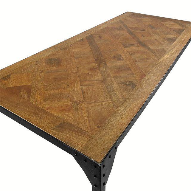 Table bois et métal Sofia AMPM  For the Home  Pinterest  Tables