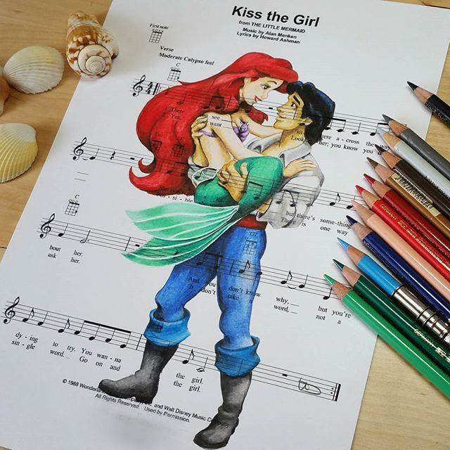 2990 best Ariel Eric images on Pinterest Disney princesses