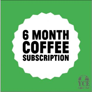 6 Months Coffee Subscription Gift