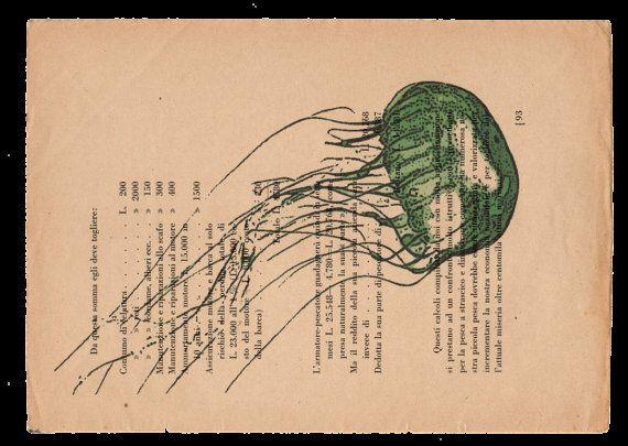 Pag. 93 Medusa colore polvere verde di StonesInLove su Etsy