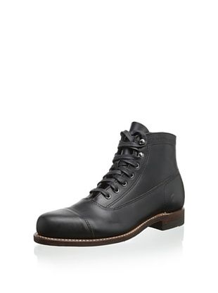 60% OFF Wolverine No. 1883 Men's Rockford 1000 Mile Lace-up Boot (Black)