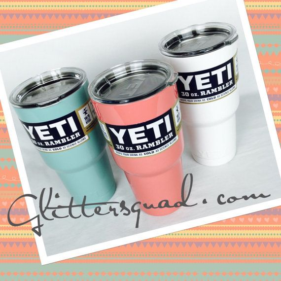 Hey, I found this really awesome Etsy listing at https://www.etsy.com/listing/249531098/colored-yeti-authentic-30oz-yeti-rambler