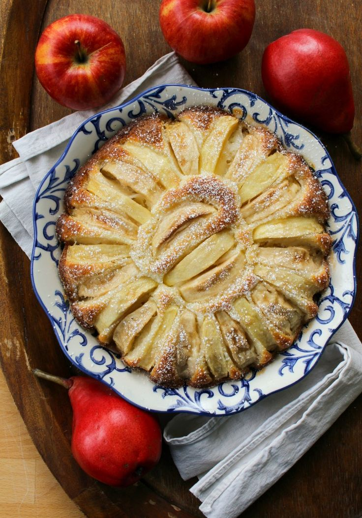 Fannie Farmer Apple Cake - the simplest, prettiest apple cake I've ever made!