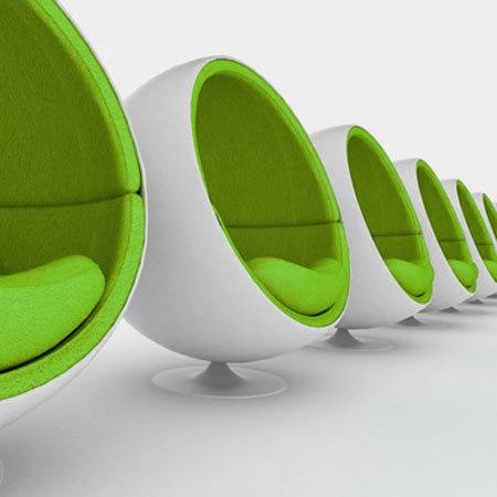 Vert et design !