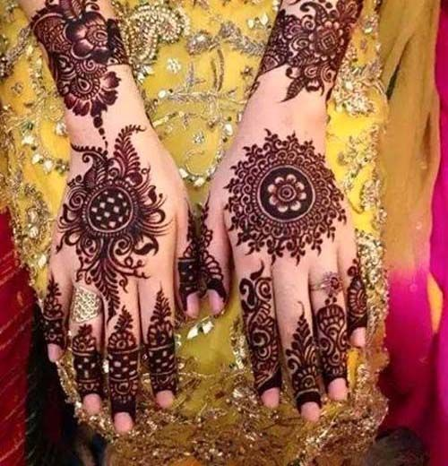 Wonderful Bridal Mehndi Designs 2016