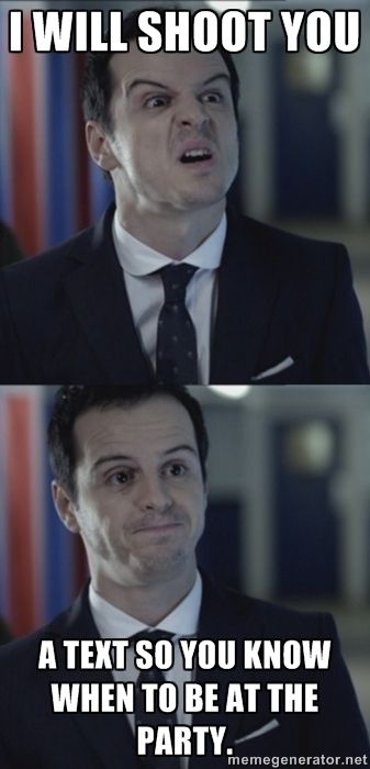 I made a Misleading Moriarty! :D