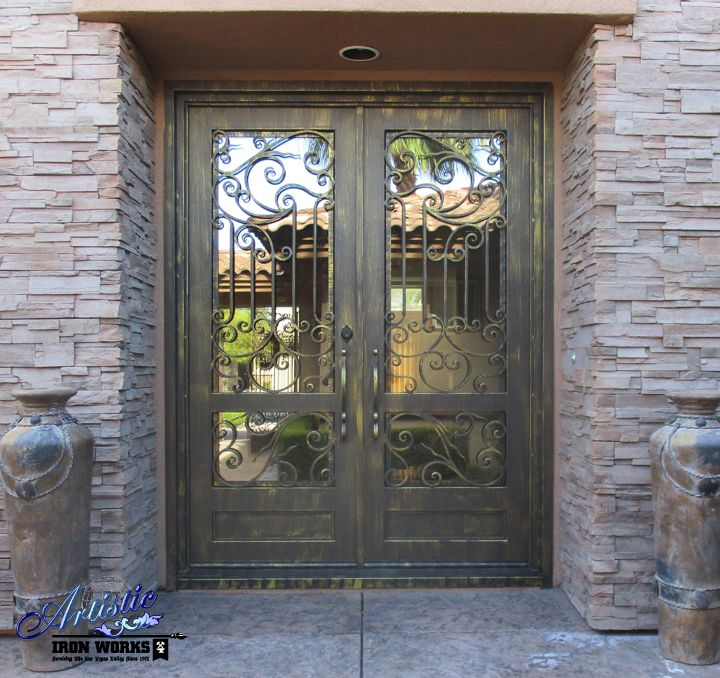 17 best images about wrought iron grand entryways on for Grand front doors