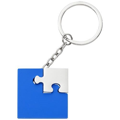 Přívěšek na klíče Puzzle (modrý)