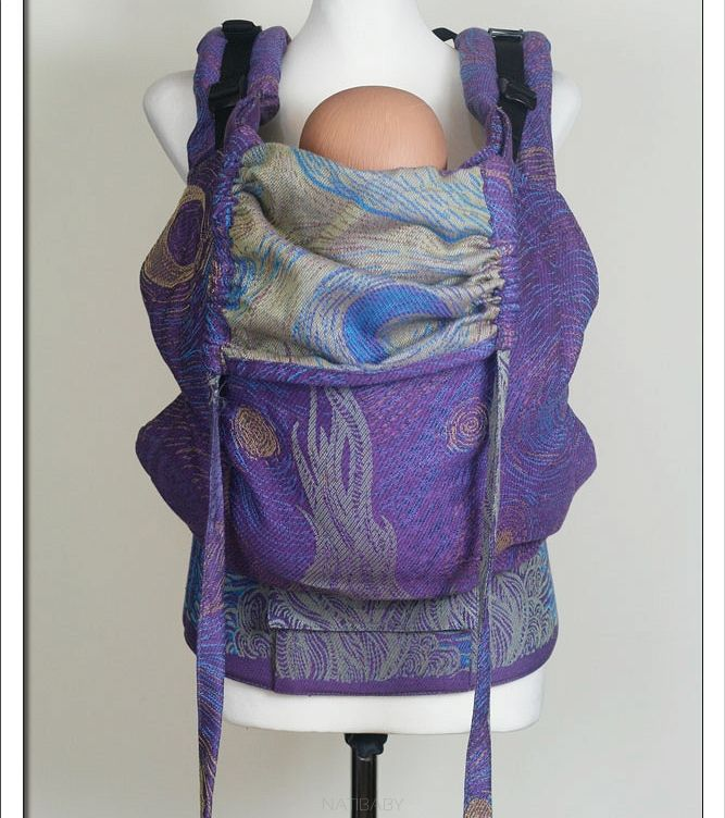 Soft Structured Carrier NatiGo Starry Night Slimpy