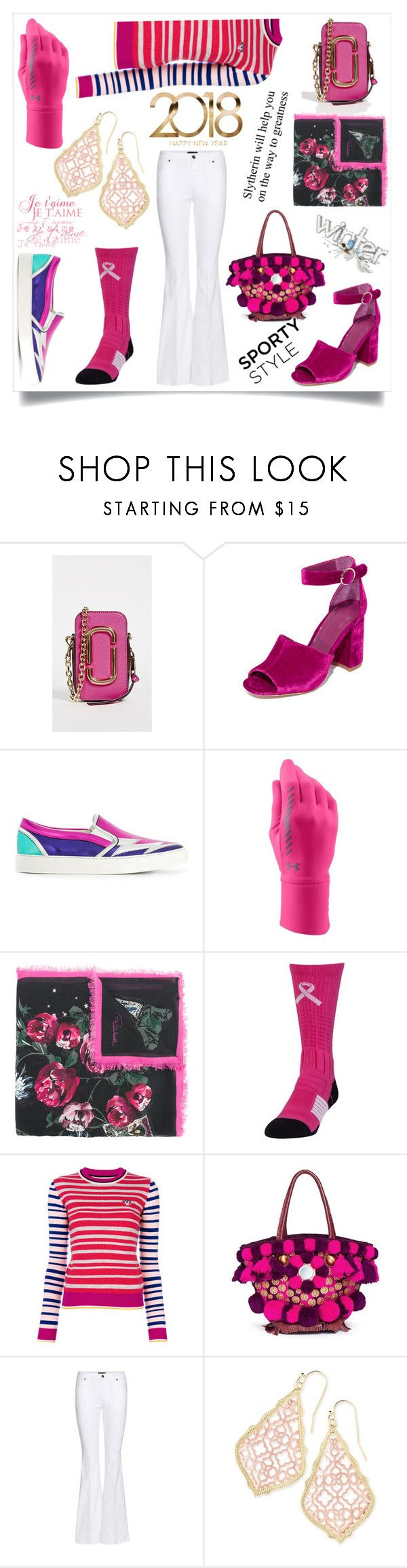 """""""Glow up your style"""" by emmamegan-5678 ❤ liked on Polyvore featuring Marc Jacobs, Joie, Dsquared2, Under Armour, Roberto Cavalli, Kenzo, Figue, Tom Ford, Kendra Scott and modern"""