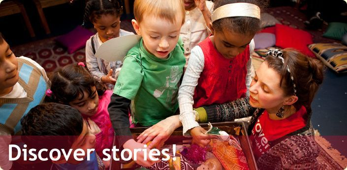 Discover Children's Story Centre > A Hands-On Interactive Story Trail for Children and Parents in Stratford, London E15