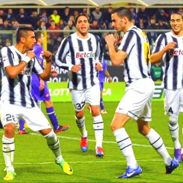 Vidal e Bonucci fighting!