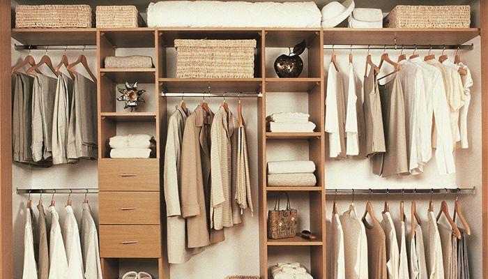 Функциональное наполнение шкафа