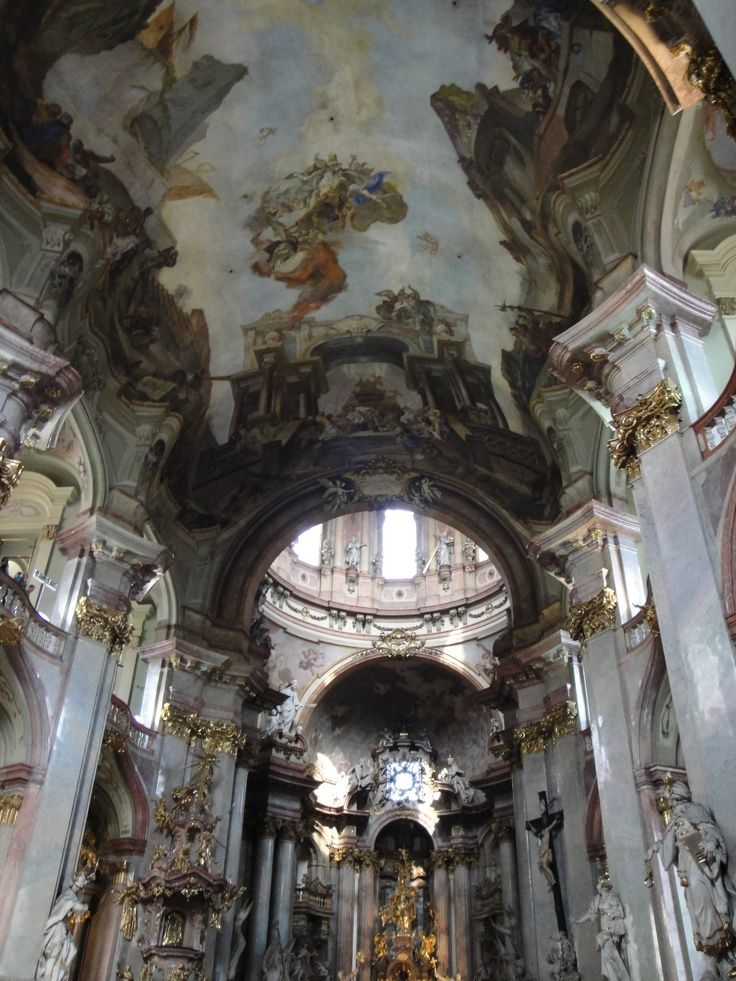 110 best images about st nicholas church prague on for Churches of baroque period