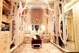 Fairytale walk in closet
