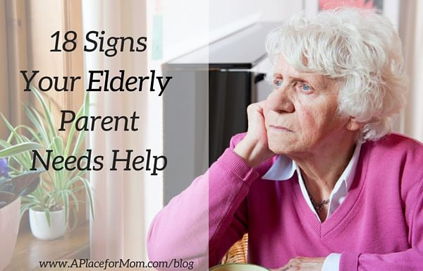 18 Signs Your Aging Parent Needs Help - Whether mail is stacking up, food is spoiled or something just seems off, it's important know the signs that your aging parents need help.