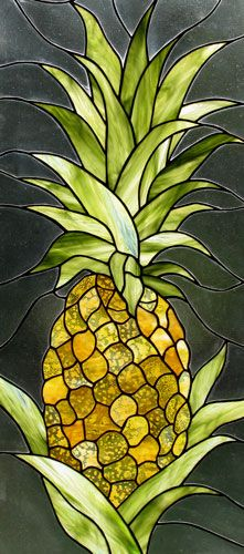 Pineapple - I would LOVE to have one of these as a sun catcher for my window.
