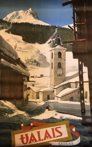 #Valais Suisse Affiche mise en vente le vendredi 15 septembre 2017, par Damien Voglaire - Les ventes Ferraton. Dernier jour d'exposition mercredi 13 septembre de 10 à 18h. Détails sur www.ferraton.be #affiche #poster