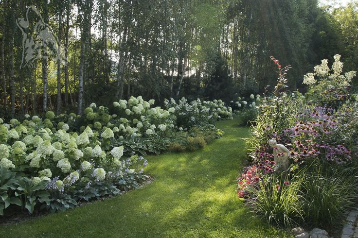 Southern part of Wilcza Gora Garden.