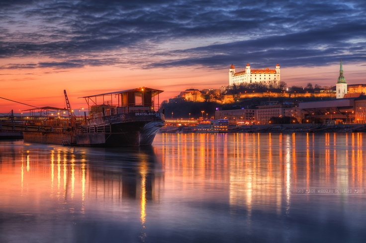 All the lights on Danube