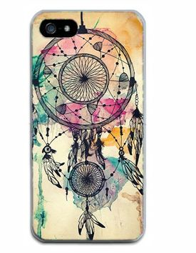 Iphone 5 Protective Shell – Yellow Dreamcatcher