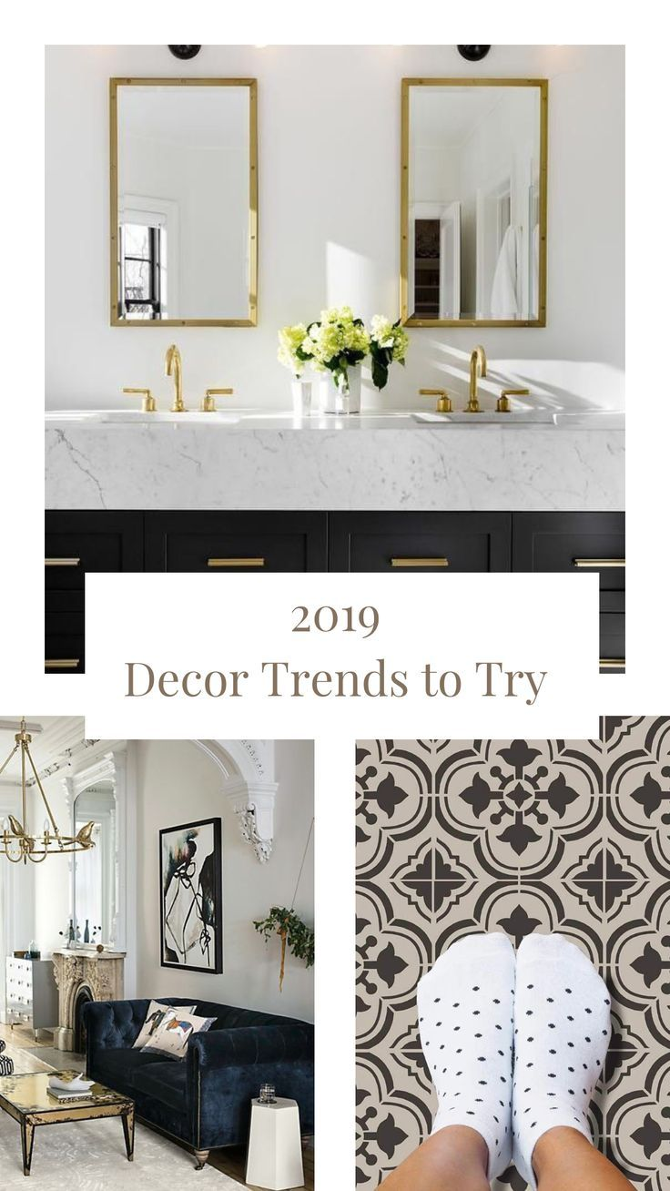 2019 Home Trends to Try