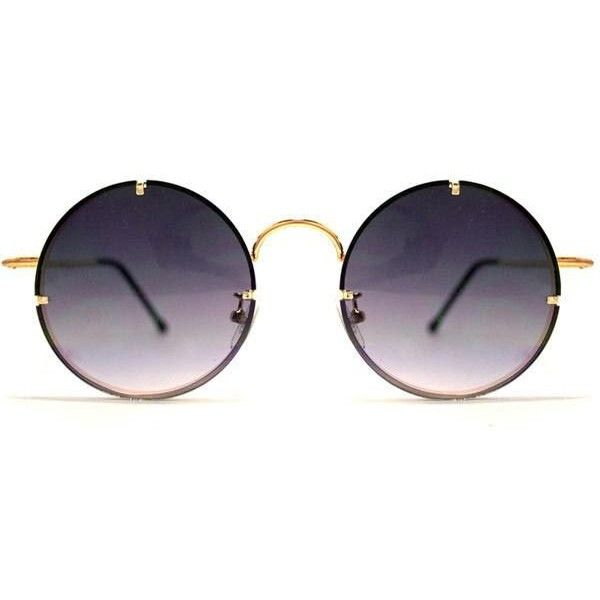 Spitfire Poolside Gold/Black Grad Sunglasses ($47) ❤ liked on Polyvore featuring accessories, eyewear, sunglasses, gold black, spitfire glasses, metal frame glasses, spitfire sunglasses, gold lens sunglasses and gold glasses