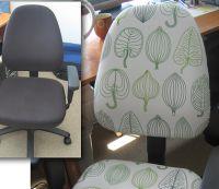 forty-two roads のブロガーが、見た目イマイチのオフィスの椅子...