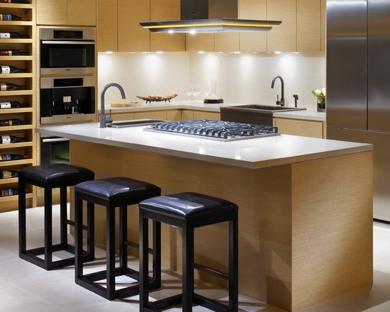 Kitchen island hob with small sink | The Decor in Me ...