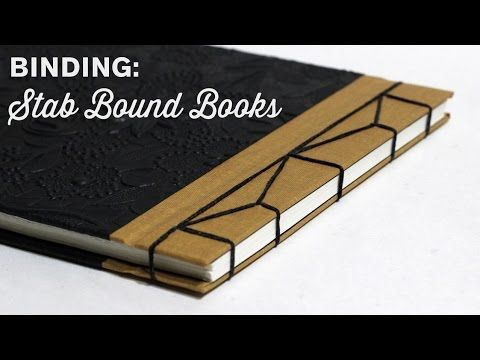 Binding A Japanese Stab Bound Book - Here's another good tutorial. This has a hardcover on the front and back.