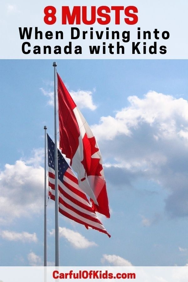 What Do I Need to Drive into Canada with Kids