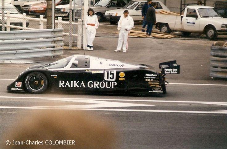 1989 Lemans N 176 15 Porsche 962 C Gti Richard Lloyd