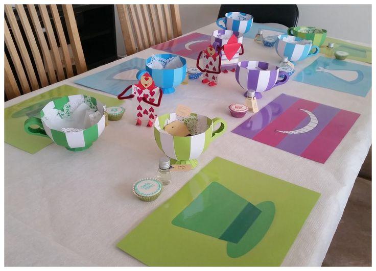 Nu er det ved at være et par måneder siden at vi holdt Alice i Eventyrland fest for børnene. Det var sjovt at finde på og udføre, men det k...
