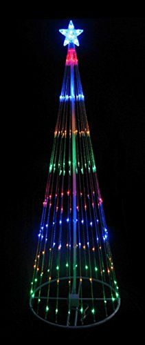 NorthLight 12 ft. Multi-Color LED Light Show Cone Christmas Tree Lighted Yard Art Decoration  http://www.fivedollarmarket.com/northlight-12-ft-multi-color-led-light-show-cone-christmas-tree-lighted-yard-art-decoration/
