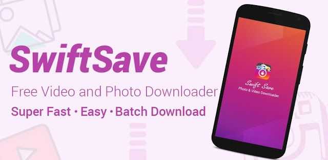 Swiftsave Logo Save From Instagram Application Android Professional Web Design