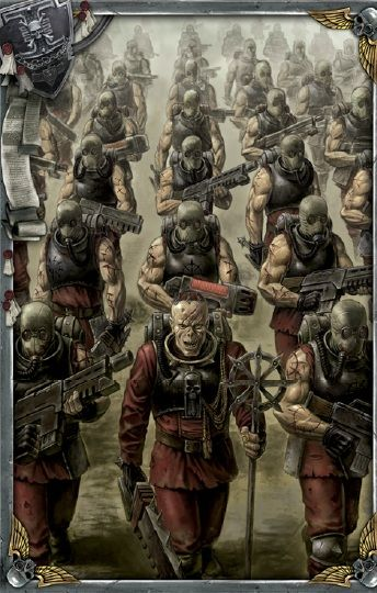 "Warhammer 40k, Chaos Cults - ""Ranks of the Stigmartus"""