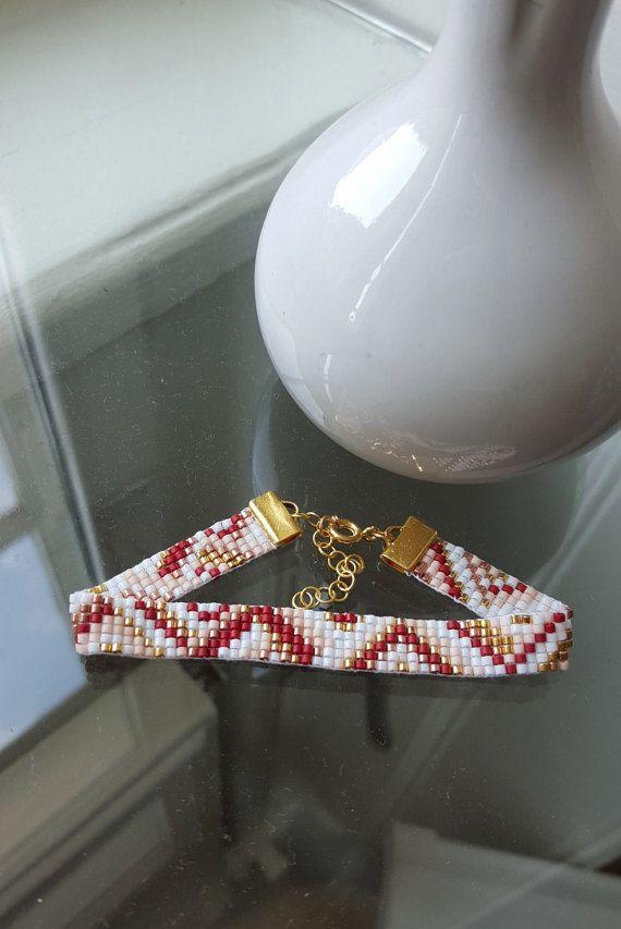 Beaded bracelet Handmade Jewelry By A