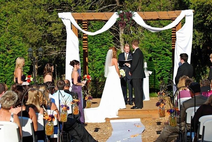 Samuel Cedars Springfield Mo Outdoor Wedding With Images