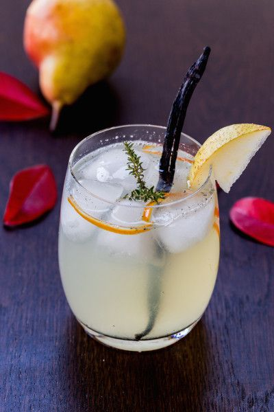 Vanilla Pear Rum Cocktail Recipe | Thanksgiving.com