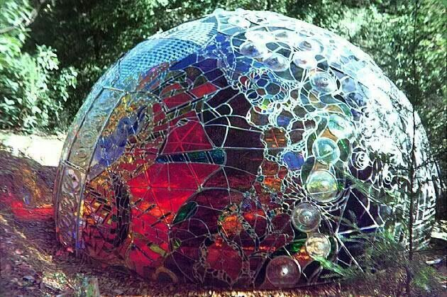 Beautiful geodesic dome!!                                                                                                                                                      More