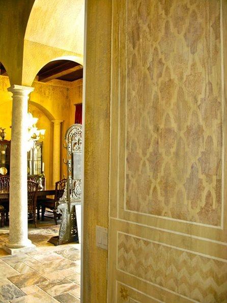 249 best Stenciling images on Pinterest | Arabesque, Damask stencil ...