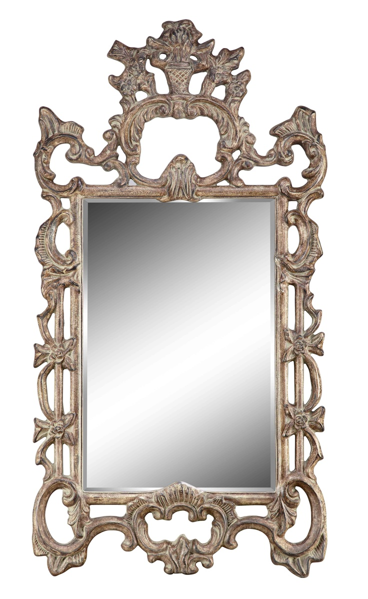 Antiqued mirror wall mirrors and mediterranean style mirrors - Antique Mirror Large Wall Mirrorsfloor