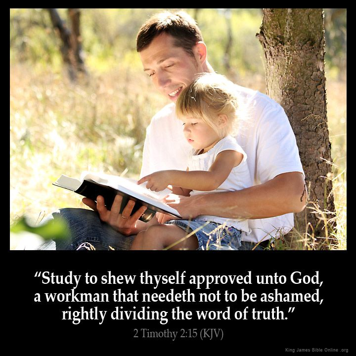 2 Timothy 2:15  Study to shew thyself approved unto God a workman that needeth not to be ashamed rightly dividing the word of truth.  2 Timothy 2:15 (KJV)  from King James Version Bible (KJV Bible) http://ift.tt/1X7QkA9  Filed under: Bible Verse Pic Tagged: 2 Timothy 2:15 Bible Bible Verse Bible Verse Image Bible Verse Pic Bible Verse Picture Daily Bible Verse Image King James Bible King James Version KJV KJV Bible KJV Bible Verse Pic Picture Verse         #KingJamesVersion #KingJamesBible…