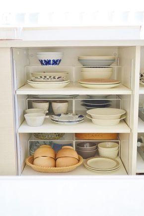 * お気に入りの食器棚 の 収納 * めがねとかもめと北欧暮らし