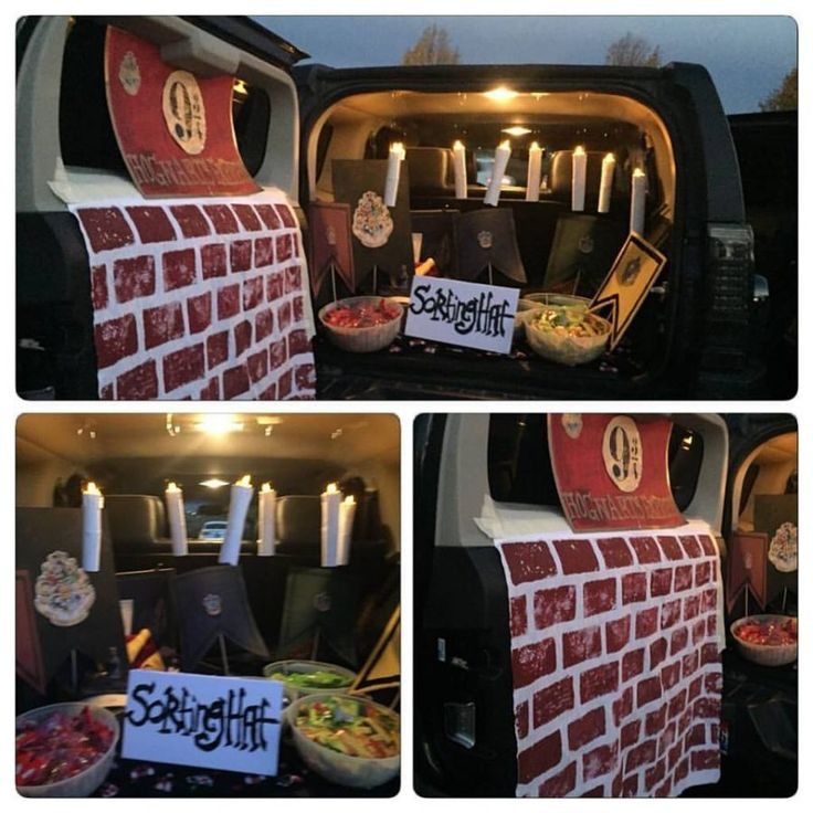32 best trunk or treat images on Pinterest Halloween decorations - trunk halloween decorating ideas